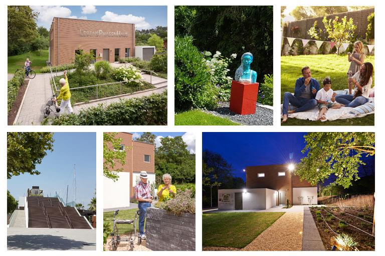 Altersgerechte Gartenarchitektur. Gartengenuss für alle Lebensphasen.