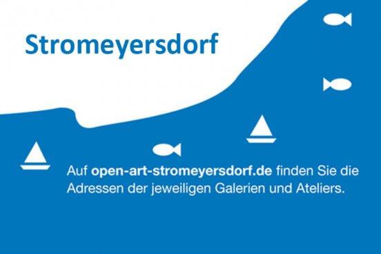 Flyer von open art stromeyersdorf